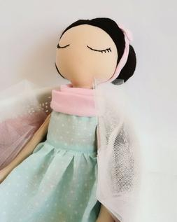 Soft 40 cm Handmade doll for little girls 2 3 4 year old bab