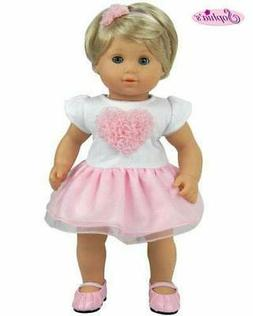 Sophia's 15 Inch Baby Doll Clothes 2 Pc. Set, Detailed Pink
