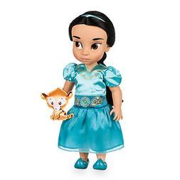 "Disney Store Jasmine Animator Baby Doll - 16"" - New"