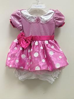 Disney Store Minnie Mouse Pink Costume Dress Size 6-12 Month