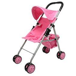 Baby Doll Stroller Foldable Play For Kids Girls Children Chr