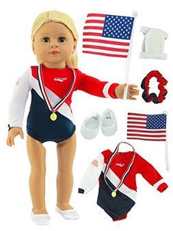 "Super Fun Gymnastic Set | Fits 18"" American Girl Dolls Made"