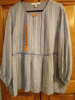 Supercute Woman's Baby Doll Type Shirt Size XXL, NWT