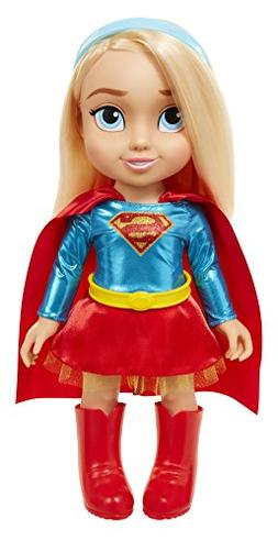 "DC Super Hero Girls 64026 Supergirl Dc Toddler Dolls - 15"" S"