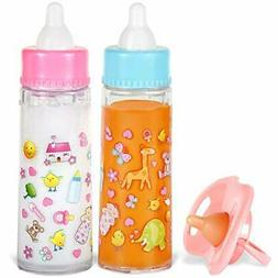 My Sweet Baby Disappearing Magic Bottles - Includes 1 Milk,