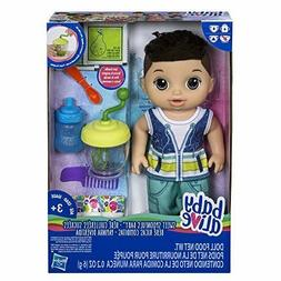 Baby Alive Sweet Spoonfuls Baby Doll Boy Brunette Accessorie