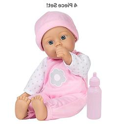 "Adora Sweet Baby Girl ""Blossom"", Doll Washable Soft Body Vin"