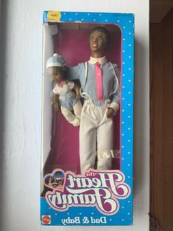 The Heart Family Vintage Dad & Baby Dolls African American 1