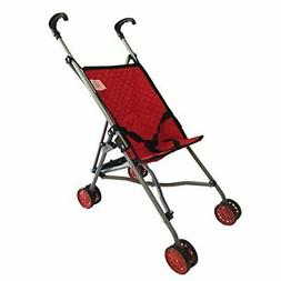 The New York Doll Collection First Dolls Stroller for Kids,