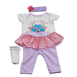 Theshy Chirstma Design Reborn Baby Doll Clothes Accessories