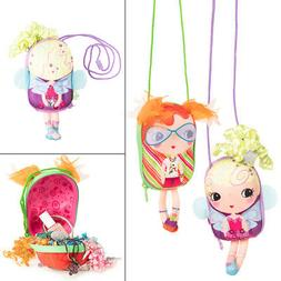 Tiny Treasures Kids Purse Girls Shoulder Bag Toys Baby Doll