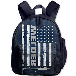 Amkong Toddler Backpacks for Boys Girls,rican Welder - Proud