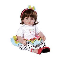 "Adora Toddler Circus Fun 20"" Girl Weighted Doll Gift Set for"
