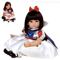 "Adora Toddler Classic Snow White 20"" Girl Weighted Doll Gift"