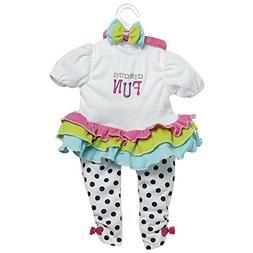 Adora 20 inch Toddler Time Baby Circus Fun Play Doll Outfit