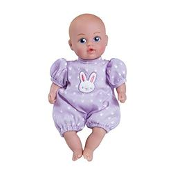 "Adora Baby Tots Lavender Onesie 8.5"" Girl Weighted Cuddly Wa"