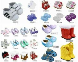 Toy accessories Doll Shoes Fits 18 Inch Dolls 43cm baby doll