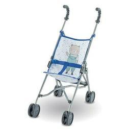 Corolle Umbrella Doll Stroller - Blue - Inspired by Stroller