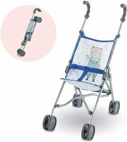 "Corolle Umbrella Stroller -for Mon Grand Poupon 14"" and 17"""