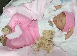 """""""UN-BEAR-ABLY CUTE!""""- 19 Inch Collectors Life Like Baby Girl"""