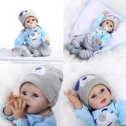 US Stock Reborn Baby Dolls Realistic Handmade Newborn Bebe B
