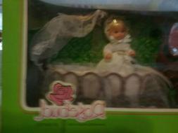 Vintage 1976 MATTEL ROSEBUD DOLL SET BABY WHITE STAR ROSE NI