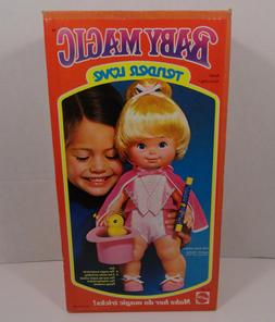 Vintage 1978 Mattel Baby Magic Doll Complete Brand New in th