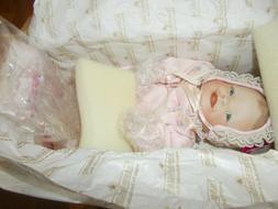 Vintage 1993 Ashton Drake Galleries Meagan Rose Baby Doll Ne