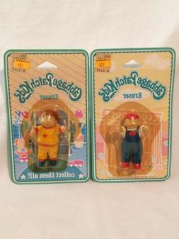 Vintage 80's Original Cabbage Patch Kids Eraser Baby Boys Lo