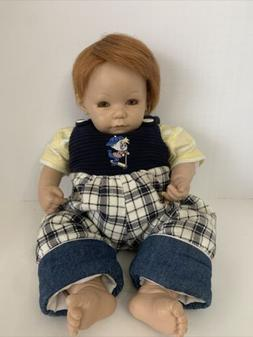 Vintage Adora Baby Doll Boy Artist Frank Young Realistic Wei