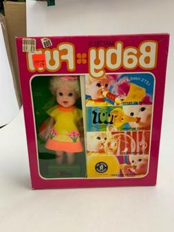 Vintage Mattel Baby Fun Doll MIB
