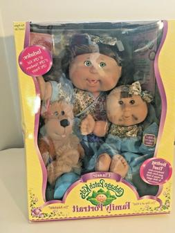 Vintage Cabbage Patch Kids Family Portrait Kid Baby Puppy Lo