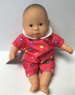 "Corolle Vintage Mini Baby Doll Toy 8"" Les Minis in Pink Jump"