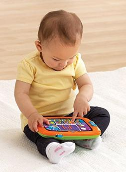 VTech Early Education Toy Light-Up Baby Touch Tablet, Orange