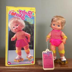 Vtg Baby Skates Doll No. 5912 1982 Mattel NIOB