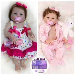 Waterproof Reborn Dolls Full Body Vinyl Silicone Babies Life