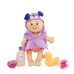 "Manhattan Toy Wee Baby Stella 12"" Soft Baby Doll and Bathing"