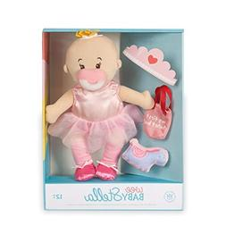 "Manhattan Toy Wee Baby Stella Tiny Ballerina 12"" Soft Baby D"