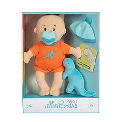 "Manhattan Toy Wee Baby Stella Tiny Dino 12"" Soft Baby Doll S"