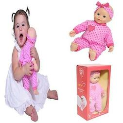 XMAS Gift for Girls 1-2 Years Old Toddlers Soft Body Caucasi