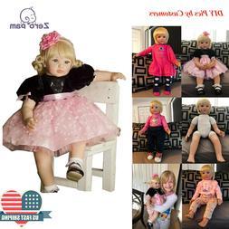Zero Pam Adorable 24'' Toddler Dolls Baby 60cm Reborn Child